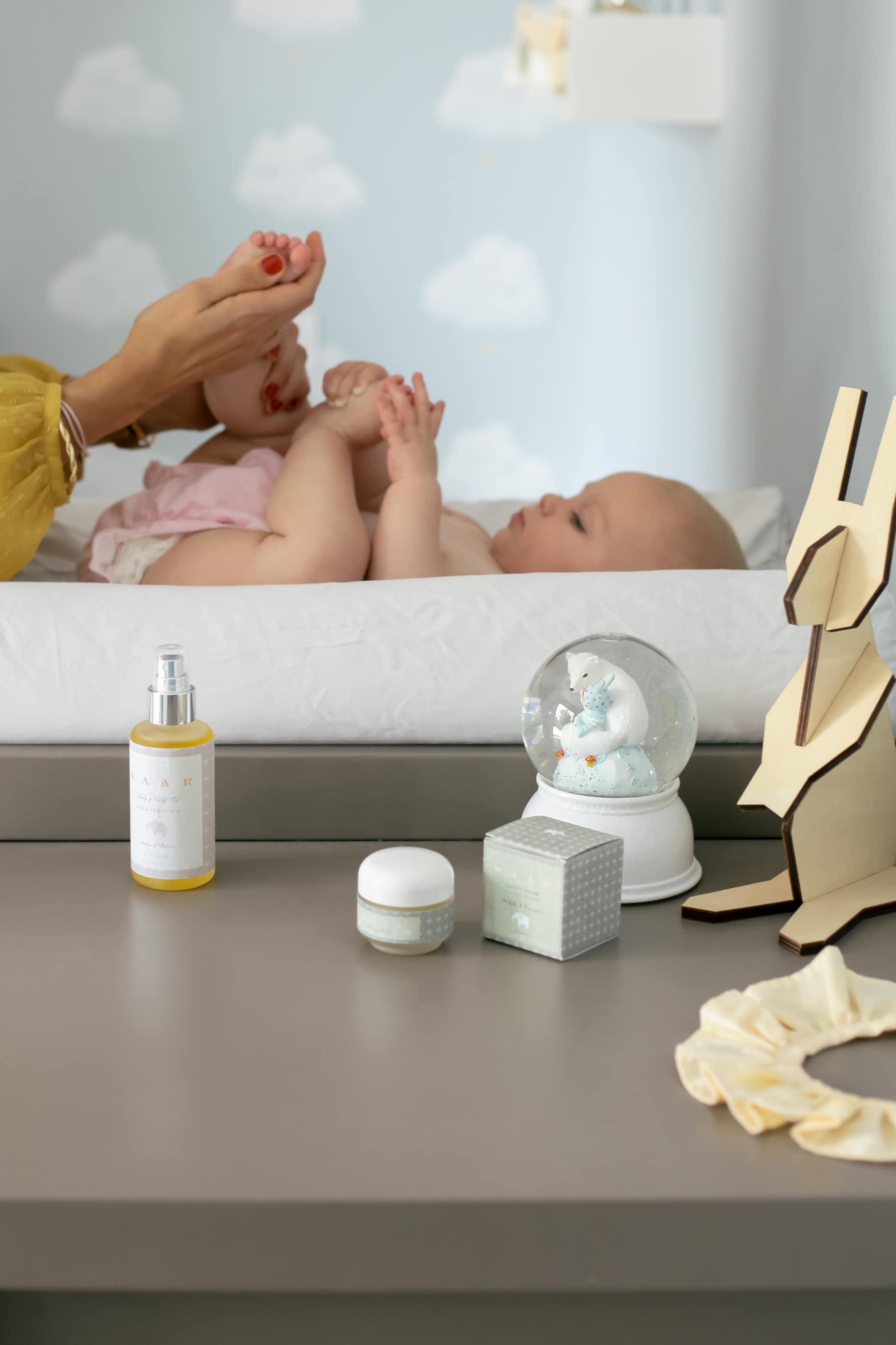 Masser son bébé : un bonheur à partager sans modération