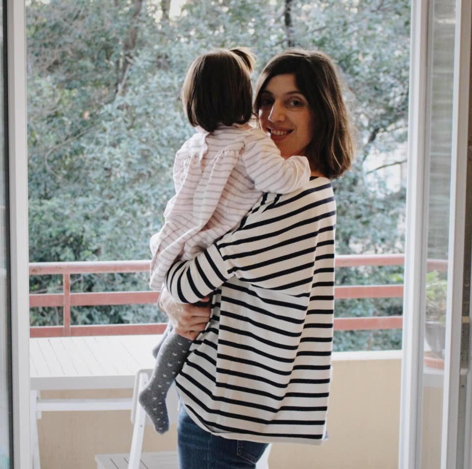 Marie, maman de Jeanne, deux ans et demi – fondatrice de la marque Joli Bump