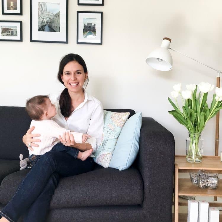 Bérangère, maman de Charlotte, 2 ans et demi et Paul, 6 semaines – Fondatrice d'Eve & Rose