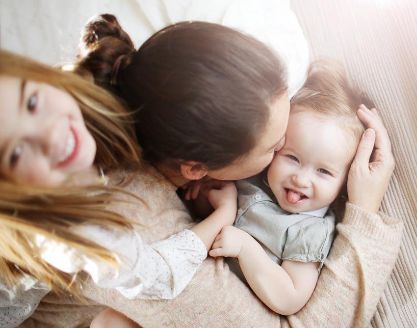 Delphine, maman d'Alice, 5 ans et Pauline, 3 ans – Travaille dans une boutique pour enfants & Conseillère Maison Margaret