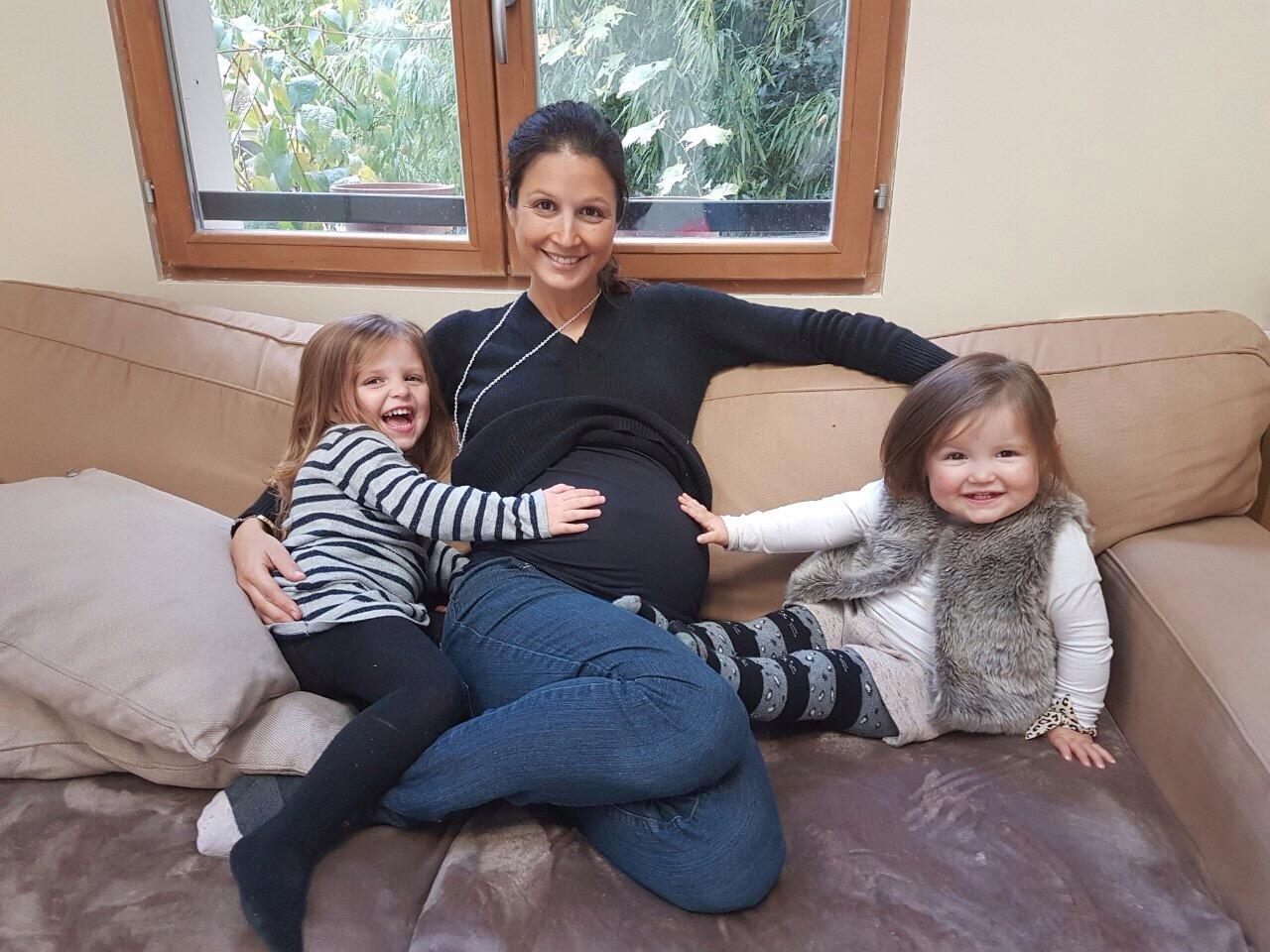 Brune, maman de Victoire, 4 ans, Clémentine, 3 ans et Valentin, 17 mois – Naturopathe.