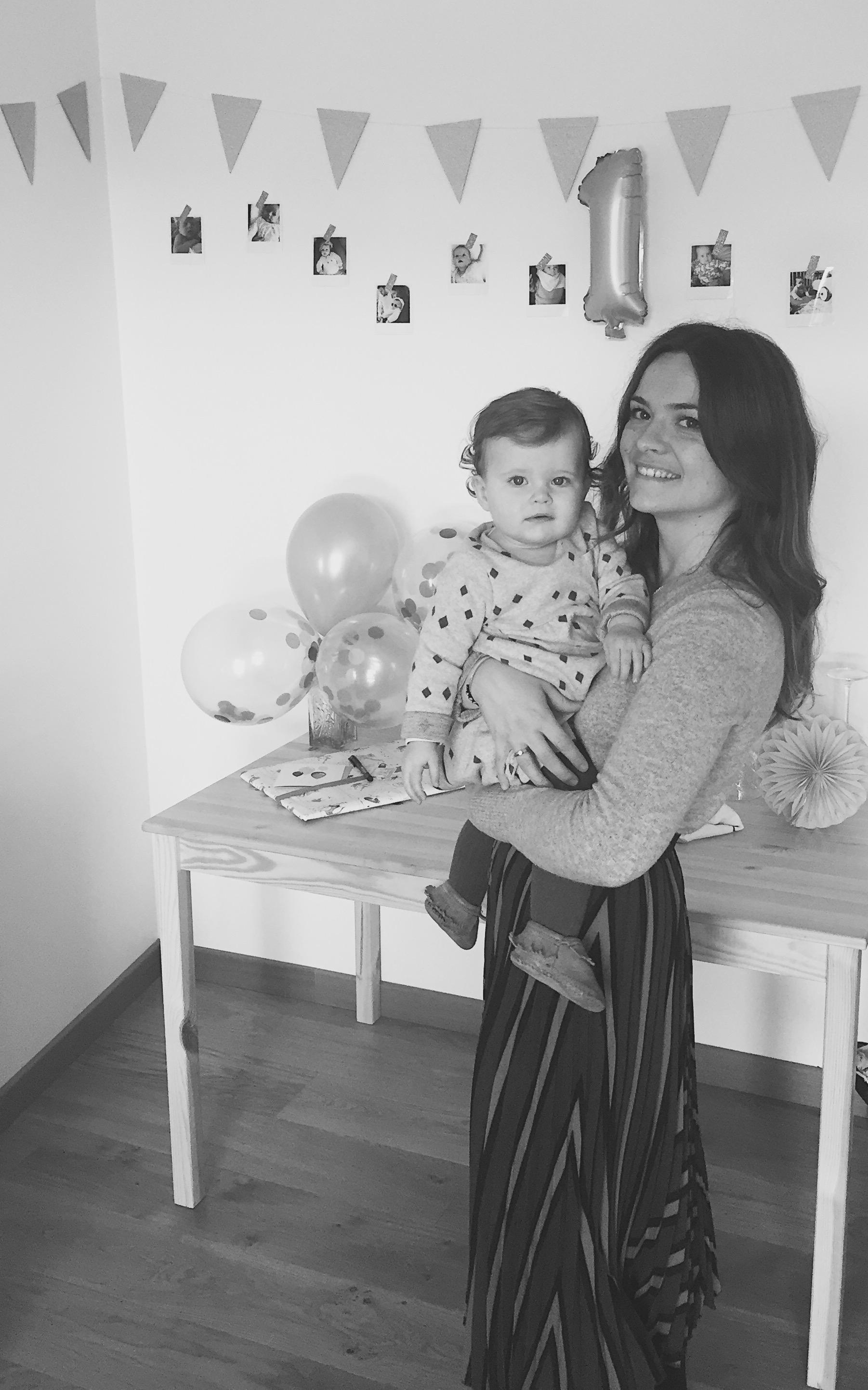 Agathe, maman de Madeleine 15 mois – Fondatrice de Coeur de beurre.