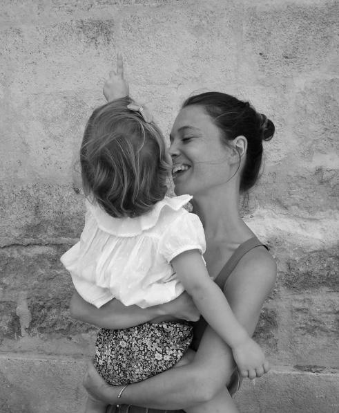 Marie, maman de Thaïs, 3 ans – Co-fondatrice d'Atelier Dalangeac