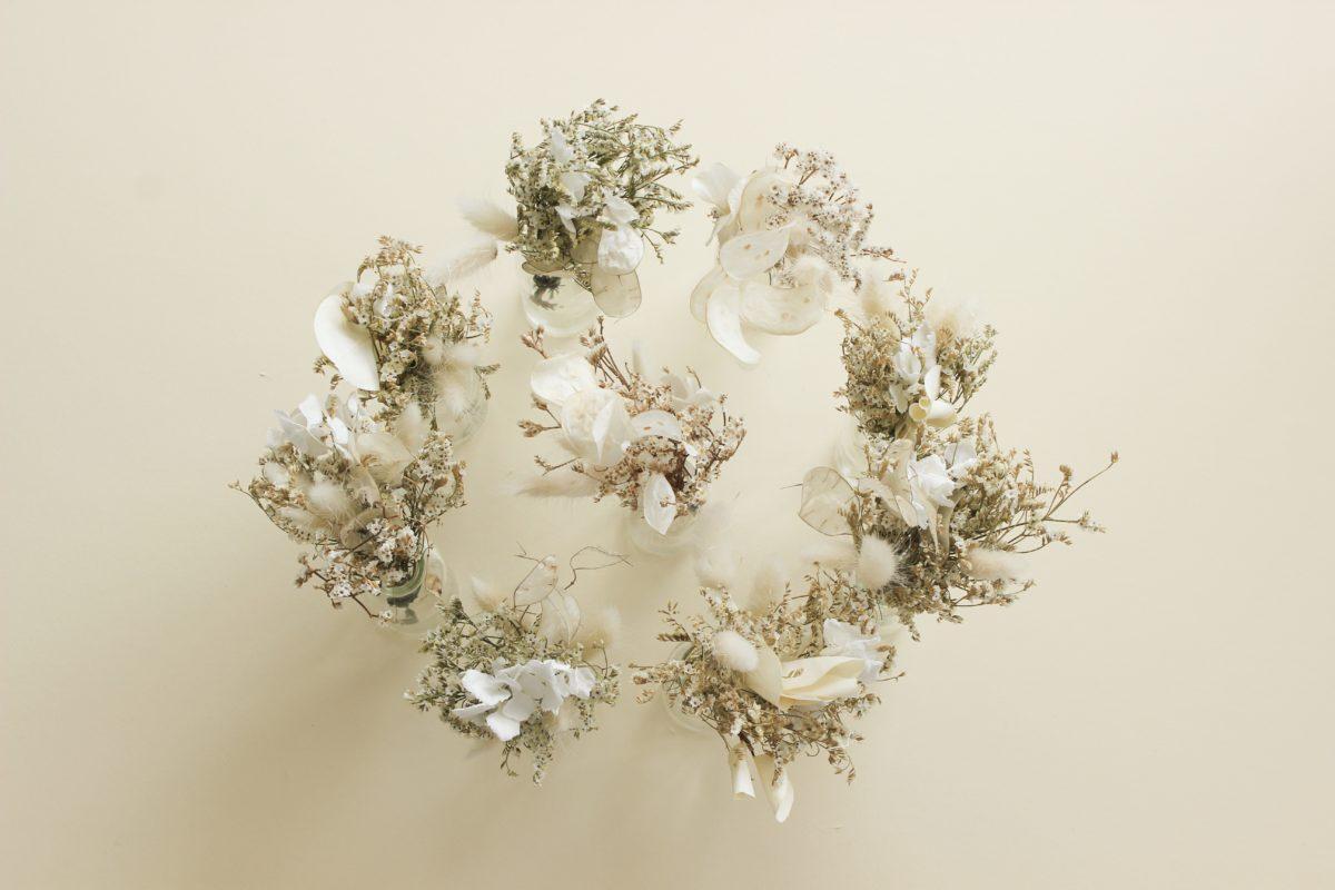 bouquet de fleurs - un nid dans les nuages
